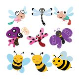 Insect vector collection design stock illustration