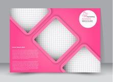 Insecte, brochure, orientation de paysage de conception de calibre de panneau d'affichage illustration libre de droits