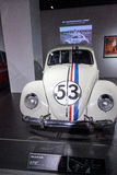 Insecte d'amour Volkswagen Beetle 1963 Herbie Photo stock