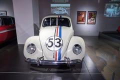 Insecte d'amour Volkswagen Beetle 1963 Herbie Images stock