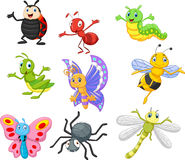 Insecte de bande dessinée illustration stock
