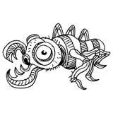 Insecte de fluage illustration libre de droits