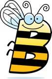 Insecte de la lettre B de bande dessinée illustration de vecteur