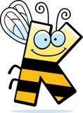 Insecte de la lettre K de bande dessinée illustration stock