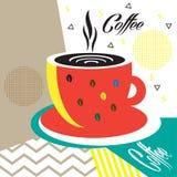 Insecte de tasse de café Images libres de droits