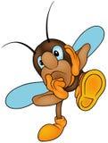 Insecte réfléchi Photo stock