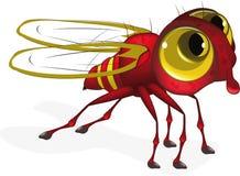 Insecte rouge illustration libre de droits