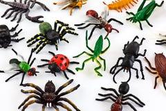 Insectes en plastique Photographie stock