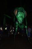 Insectes puszka Romańska droga Przy Greenwich 23rd 2012 Czerwiec Docklands Międzynarodowym festiwalem i Fotografia Stock