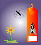 Insecticide insects Royalty Free Stock Image