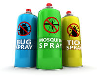 Insecticides Stock Image