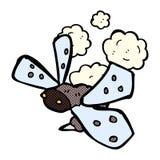 insecto cómico de la historieta Imágenes de archivo libres de regalías