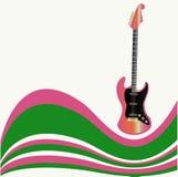 Insecto da guitarra ilustração stock