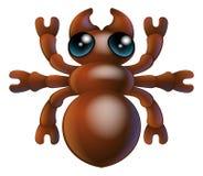 Insecto de la hormiga del insecto de la historieta Imágenes de archivo libres de regalías