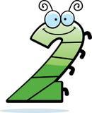 Insecto de número dos de la historieta Foto de archivo