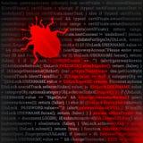 Insecto del virus Imagenes de archivo