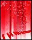 Insecto do partido com teclado ilustração do vetor