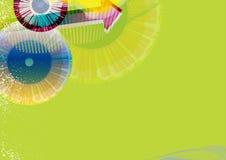 Insecto, folheto, disposição da brochura ilustração do vetor