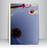 Insecto, folheto, disposição da brochura ilustração stock