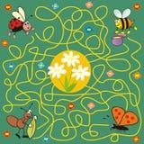 Insecto - laberinto Imagen de archivo