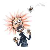 Insectophobia также вектор иллюстрации притяжки corel Стоковое Фото
