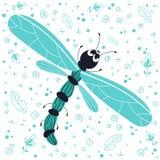 Insectos de la historieta del vector libre illustration