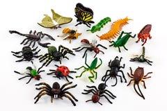 Insectos plásticos Imagenes de archivo