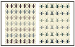 Insects background Royalty Free Stock Photography