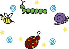 Insects And Bugs Stock Photography
