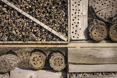 Insects hotel Royalty Free Stock Photography