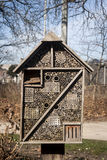 Insects hotel in a parc Stock Images