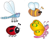 Insects illustration stock image