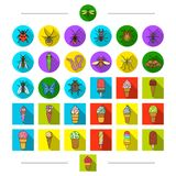 Insects, nature, ecology and other web icon in cartoon style. Culinary, cafes, rest,icons in set collection. Insects, nature, ecology and other icon in cartoon stock illustration