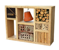 Insects nesting box Stock Photo