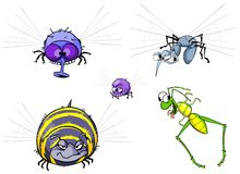 Insects set. royalty free illustration