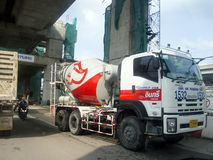 INSEE Group Concrete truck Stock Images