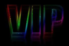 Insegna al neon di VIP Immagine Stock Libera da Diritti