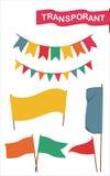 Insegna, bandiera Fotografie Stock Libere da Diritti