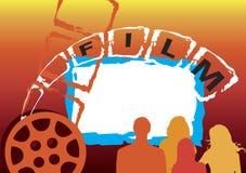 Insegna del film Immagini Stock Libere da Diritti