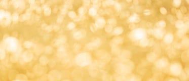 Insegna del fondo astratto di struttura del bokeh giallo immagine stock