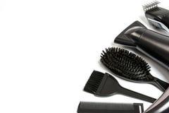 Insegna del salone del parrucchiere Fotografia Stock Libera da Diritti
