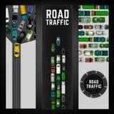 Insegna del traffico cittadino Fotografia Stock