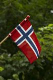 Insegna della Norvegia Immagini Stock Libere da Diritti