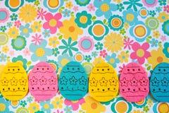 Insegna delle uova di Pasqua Fotografia Stock