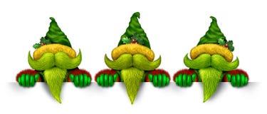 Insegna di Elf Immagini Stock