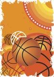 Insegna di pallacanestro Immagine Stock