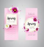 Insegna di vendita della primavera Immagini Stock Libere da Diritti