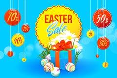 Insegna di vendita di Pasqua royalty illustrazione gratis