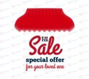 Insegna di vendita - offerta speciale per il vostro caro Immagine Stock