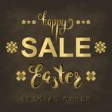 Insegna di vendita di Pasqua di vettore illustrazione vettoriale